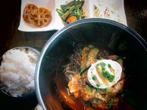 ビビン冷麺定食